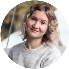 Foto på skribenten Stefania Fält